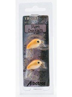 Albatros Micro Crankbait (2 pcs)
