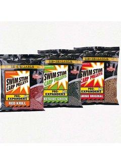 Dynamite Baits Swim Stim Carp Pellets Pro-Expanders Red Krill (300g)
