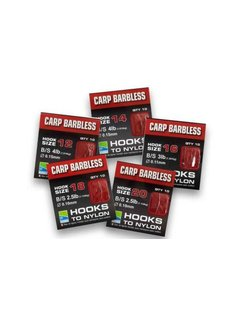 Preston Carp Barbless (10 pcs)