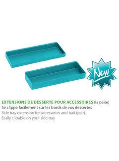 Rive extensions de desserte side tray