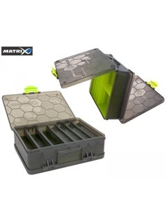 Matrix Double Sided Feeder & Tackle Box