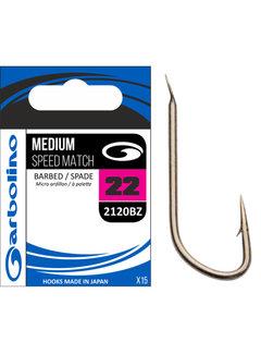 Garbolino Medium Speed Match Barbed-Spade (15 pcs)