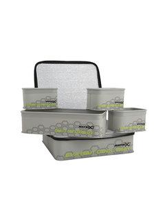 Matrix EVA Bait Cool Tray Light Grey Includes 4x Bait Tubes