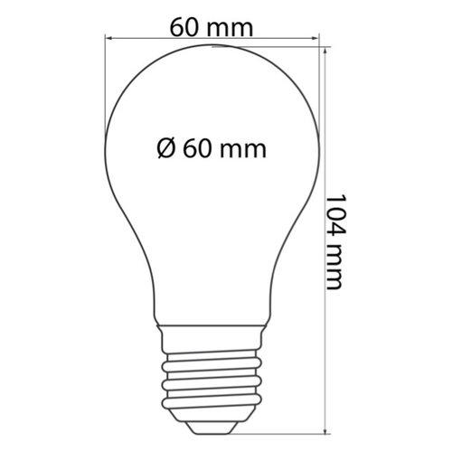 Lichterkette Glühbirne farbig, große Abdeckung, rot, LED 2 & 5 Watt