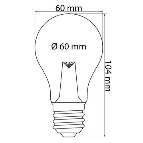 Lichterkette Glühbirne farbig, LED mit Abdeckung & Linse, grün - 1 Watt
