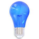 Lichterkette Glühbirne farbig, LED mit Abdeckung & Linse, blau - 1 Watt