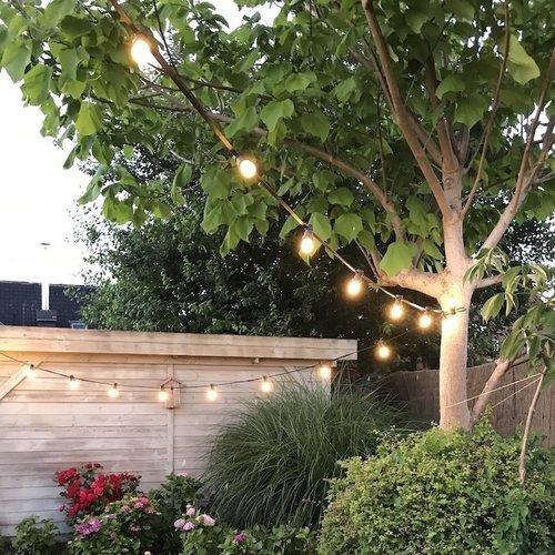 Lichterkette Glühbirne, LED Filament, 3 Watt