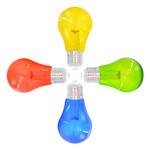 Gemischtes Set, 4 farbige LEDs, Ø60