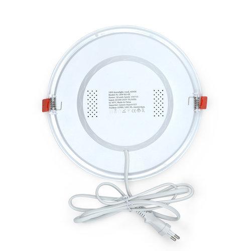 LED-Downlight rund - 18 Watt - Ø 220 mm