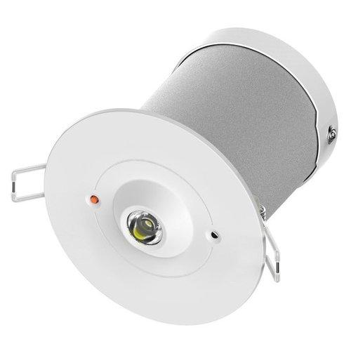 Sicherheitsleuchte LED Spot zur Einbaumontage, 2 Watt