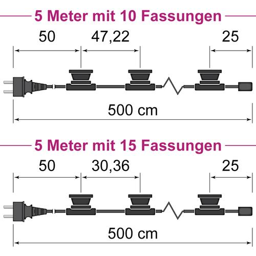 Illu Lichterkette 5 Meter