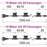 Illu Lichterkette 15 Meter