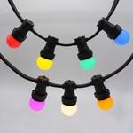 Illu Lichterkette, 7 farbige LEDs