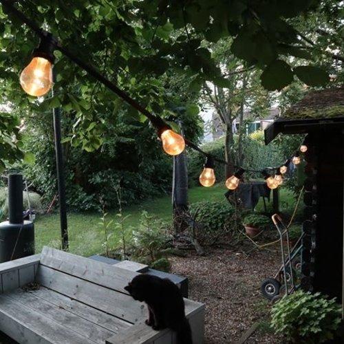 Lichterkette Glühbirne mit großer Abdeckung und Linse, dimmbar