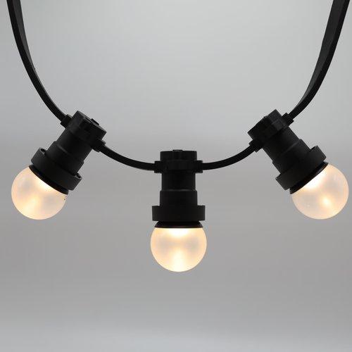 Lichterkette Glühbirne, LED mit mattierter Abdeckung