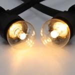 Lichterkette Glühbirne mit Linse, LED