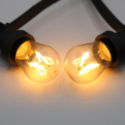 Warmweiße LED Filament Glühlampe, 3.5 Watt, dimmbar