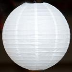 Weiße Lampions für den Außenbereich, Ø35cm