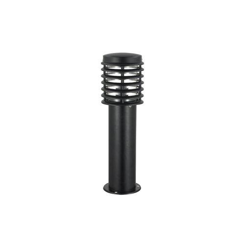 Edelstahl schwarz Outdoor Stehleuchte Elia, 50 cm