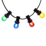 Illu Lichterketten mit farbigen Lampen