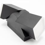 Verstellbare Wandleuchte Michael 2-flammig - schwarz