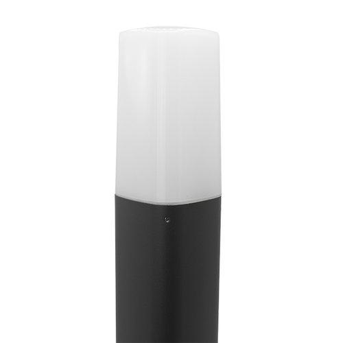 Moderne anthrazitfarbene Stehleuchte Izo, 50 cm