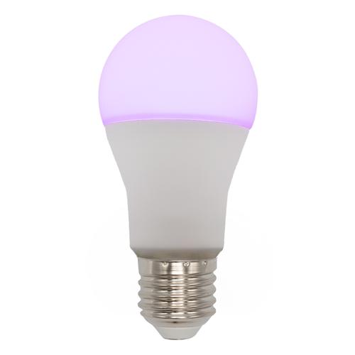 E27 intelligente dimmbare RGB und CCT LED-Glühbirne, 10W