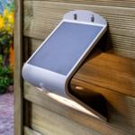 Solar-Wandleuchte Single Conan 2,3W mit Sensor - weiß