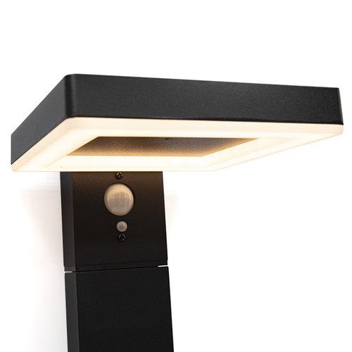 Schwarze Stehleuchte mit Sensor Paulo - 50 cm