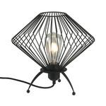 Industrielle Tischlampe mit schwarzem Metall - Spider