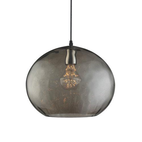 Design-Hängeleuchte mit Rauchglas - Palermo