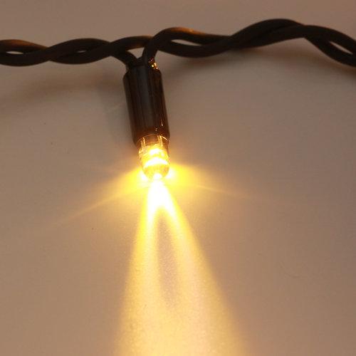 LED Eiszapfen Lichterkette   15 Meter mit 570 Lichtern - warmweiß