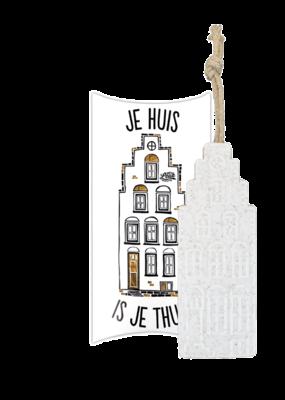 100%LEUK Cadeaudoos – Je huis is je thuis