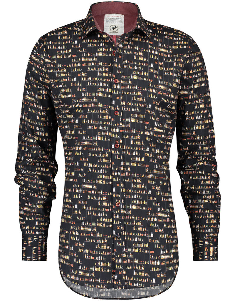 A Fish Named Fred AFNF Shirt Barwall Black