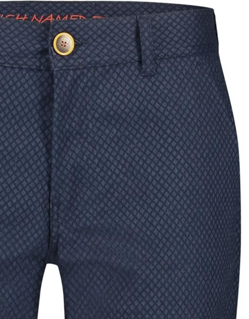 A Fish Named Fred AFNF Chino fancy pattern blue