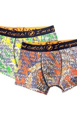 A Fish Named Fred 2 pack boxershort floral art deco