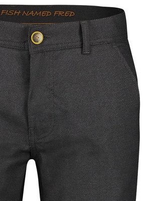 A Fish Named Fred AFNF Chino dark grey structure Maat 31