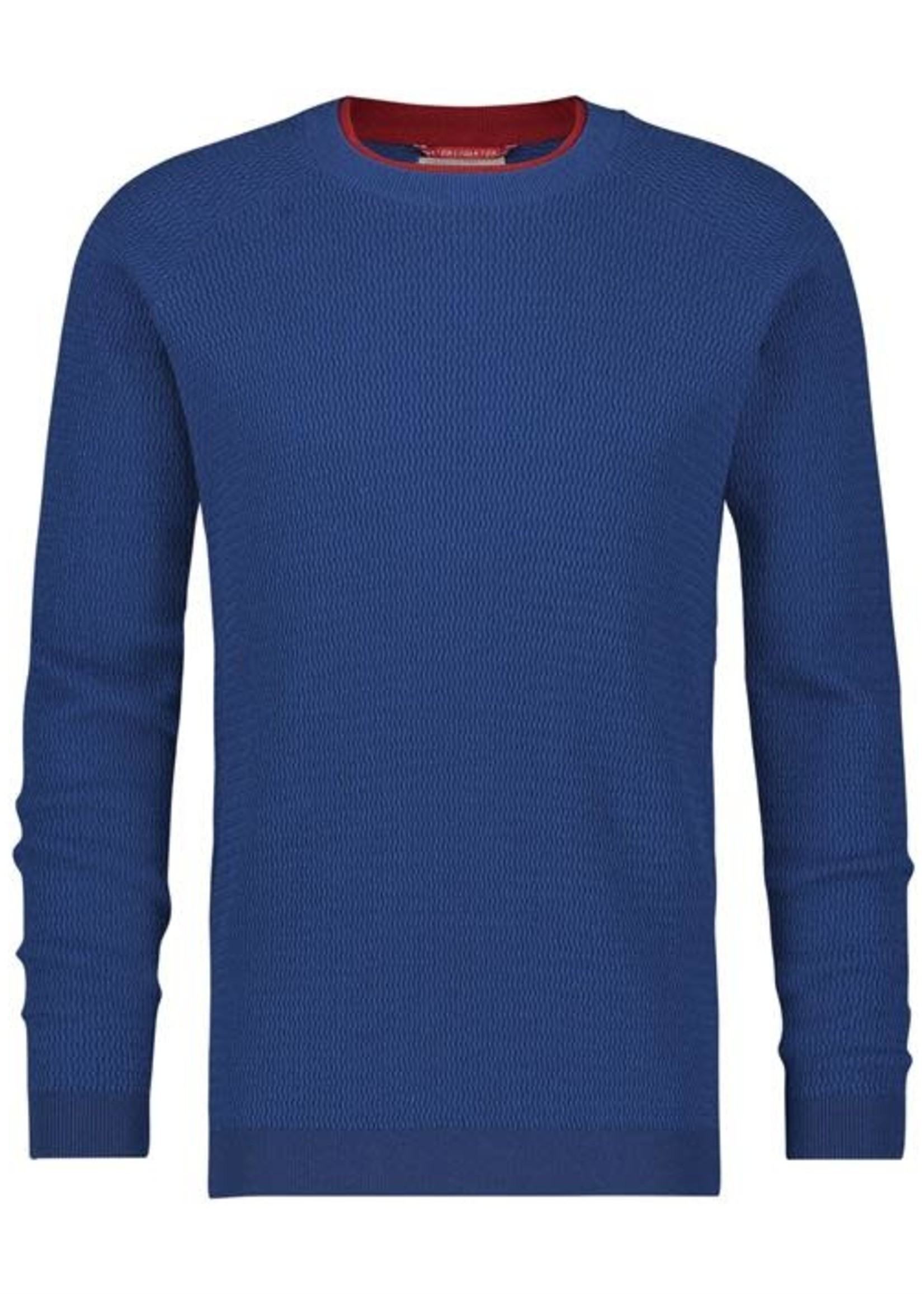 A Fish Named Fred AFNF Crewneck double blue