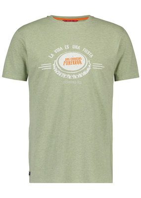 A Fish Named Fred AFNF T-shirt La Vida Green