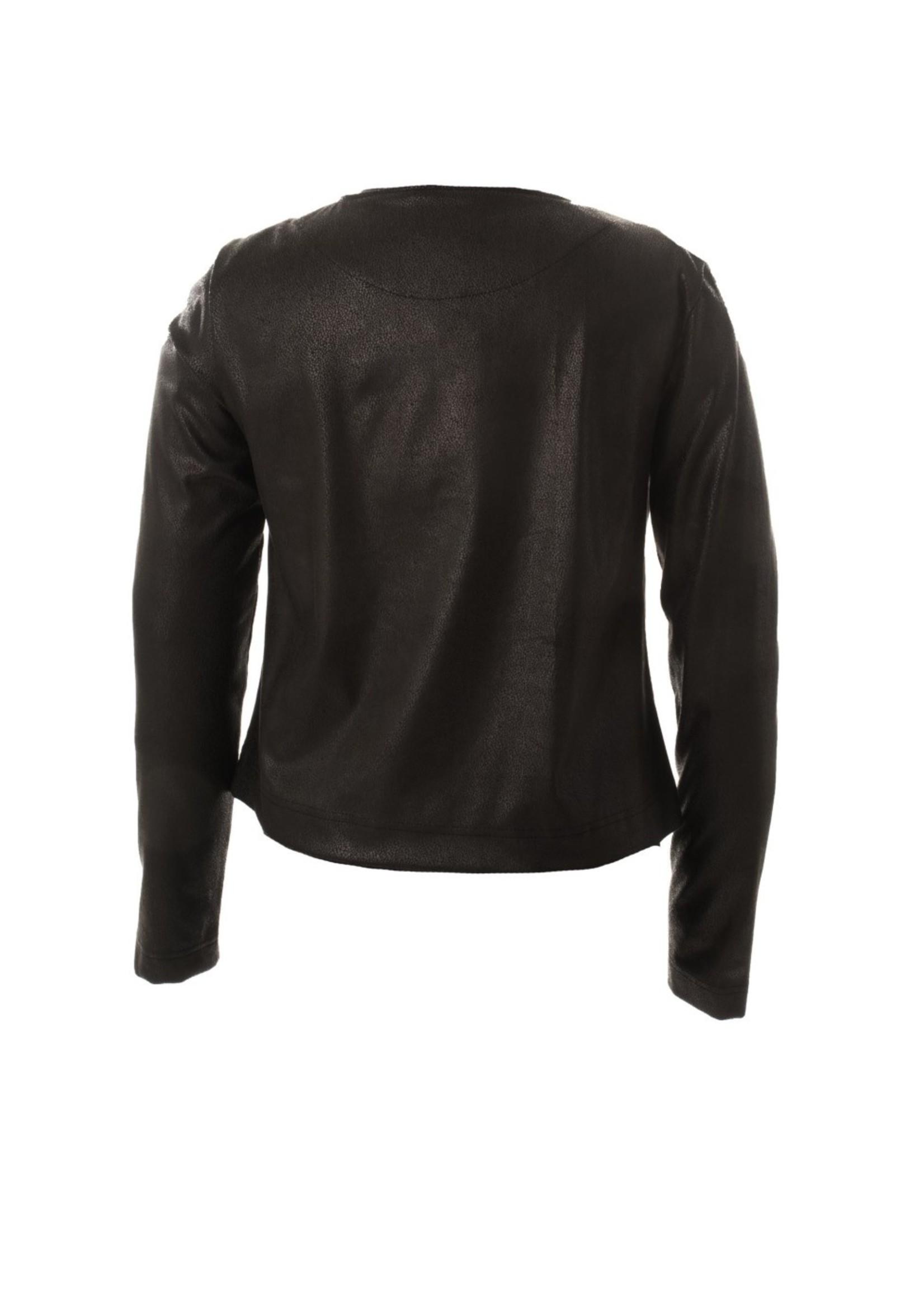MOOI VROLIJK 20435 MV jasje basic black leather