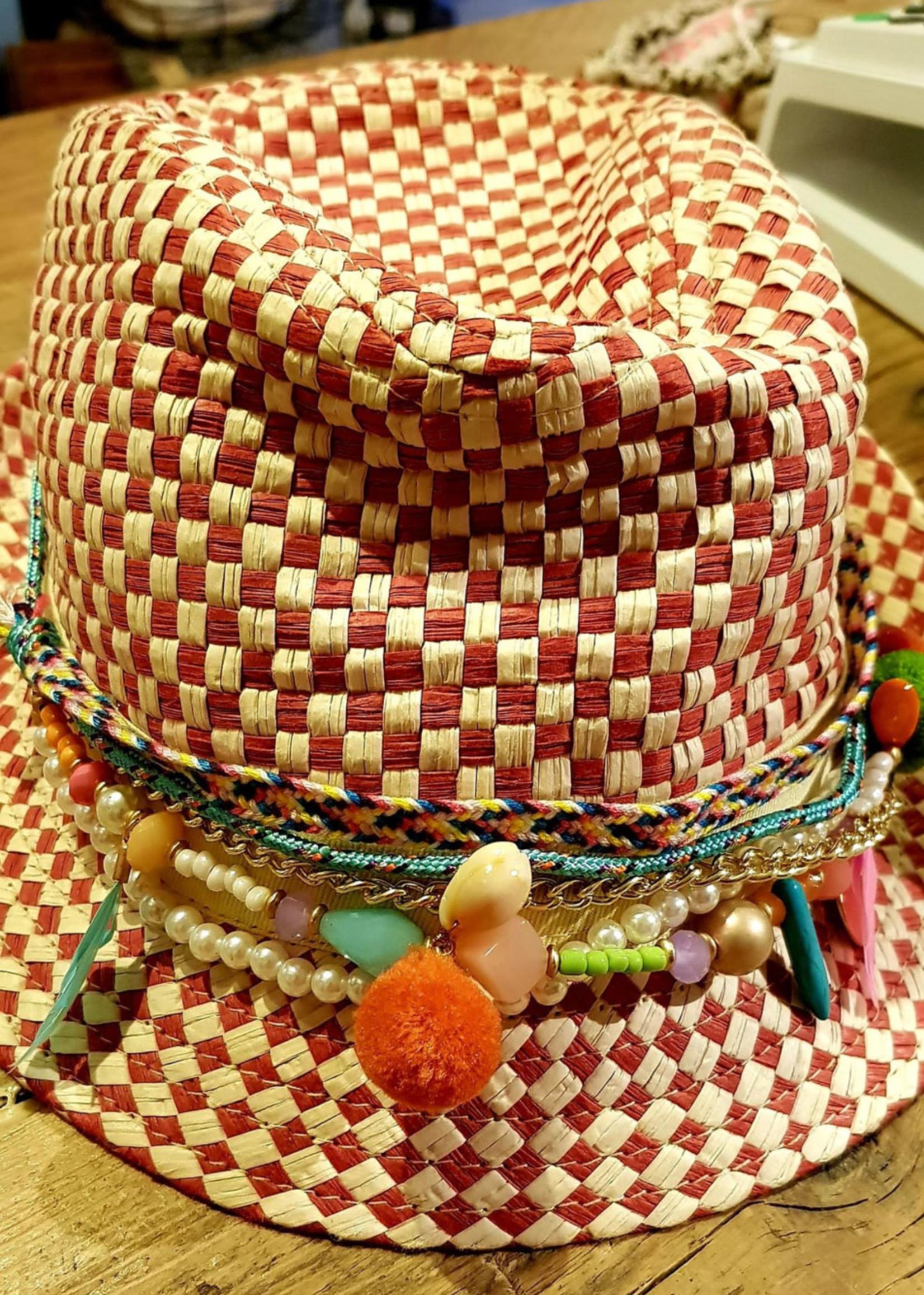 Bohemian hoedversiering