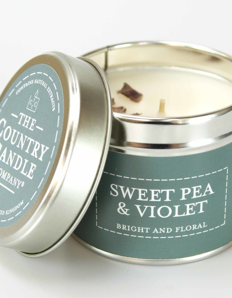 COUNTRYCANDLE SweetPea&Violet