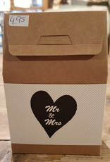Candy in a box Mr & Mrs