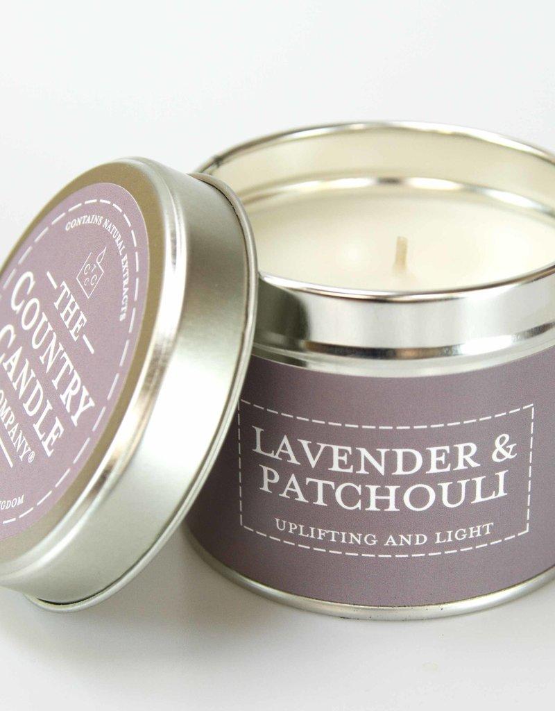 COUNTRYCANDLE Lavender&Patchouli