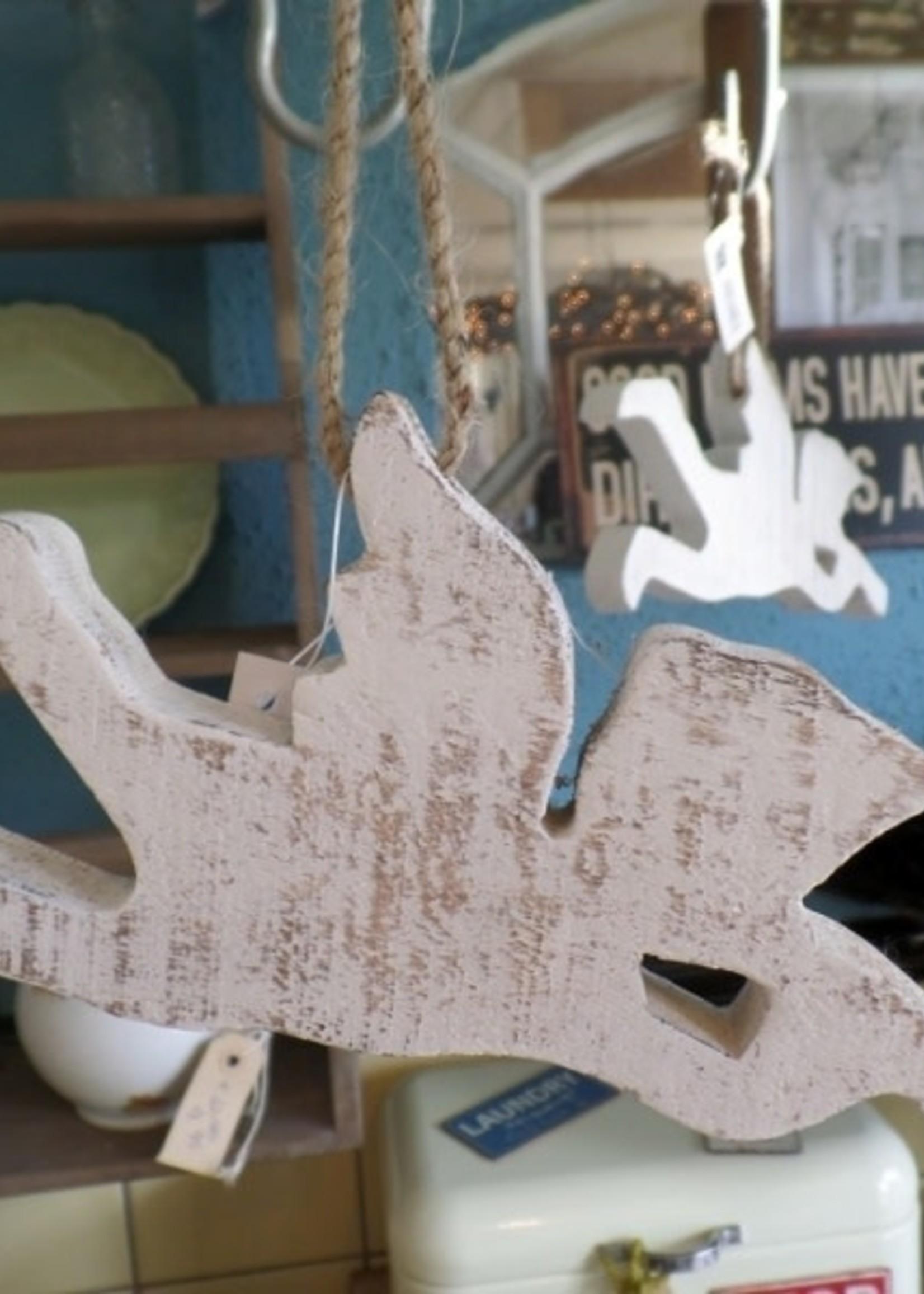 IB LAURSEN houten engel met trompet