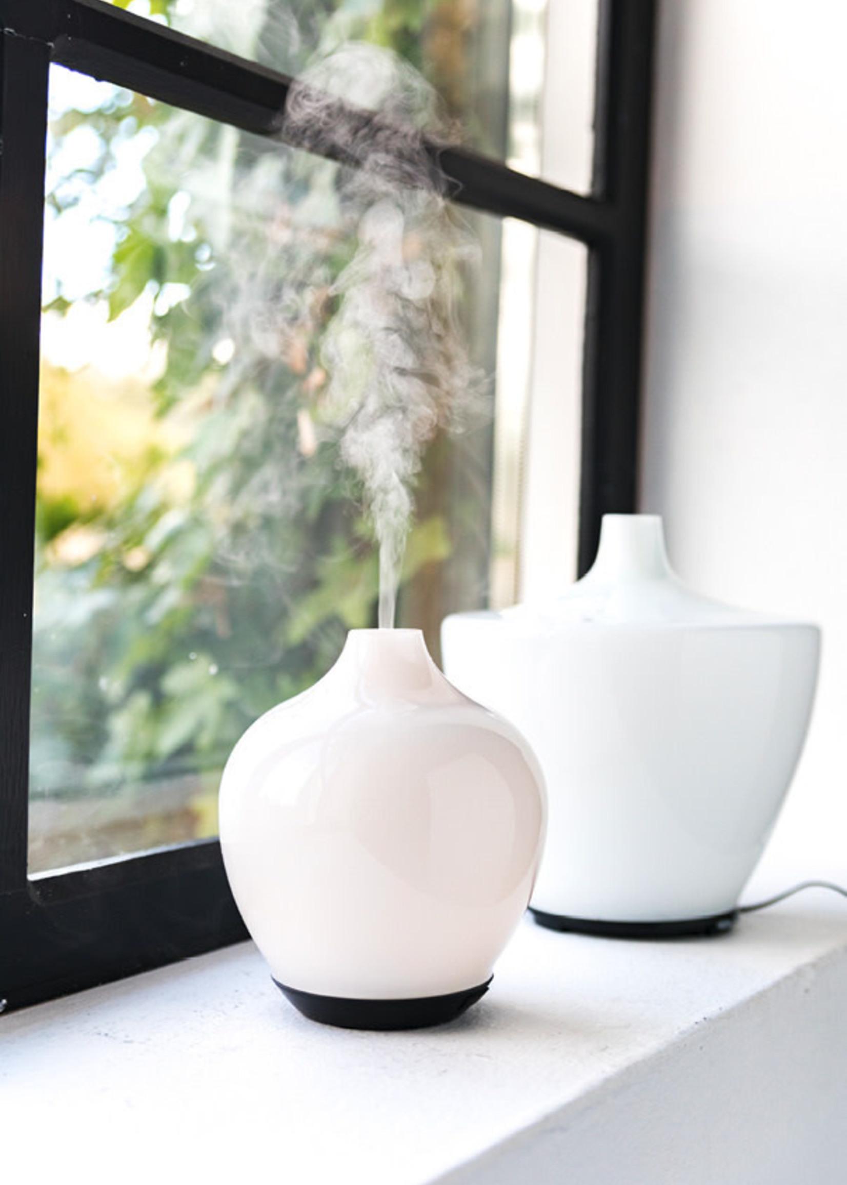 Home Society Glass Diffuser Vase White