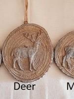 HS ornament Deer / Reindeer / Moos