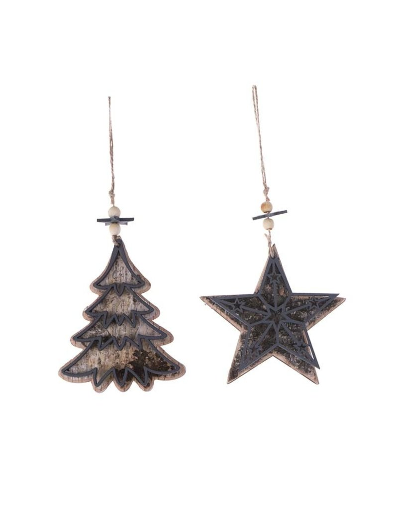 HS Ornament Rika Tree and Star