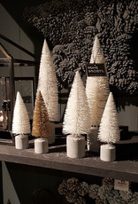 HOME SOCIETY Tree Burk Wit set van 3