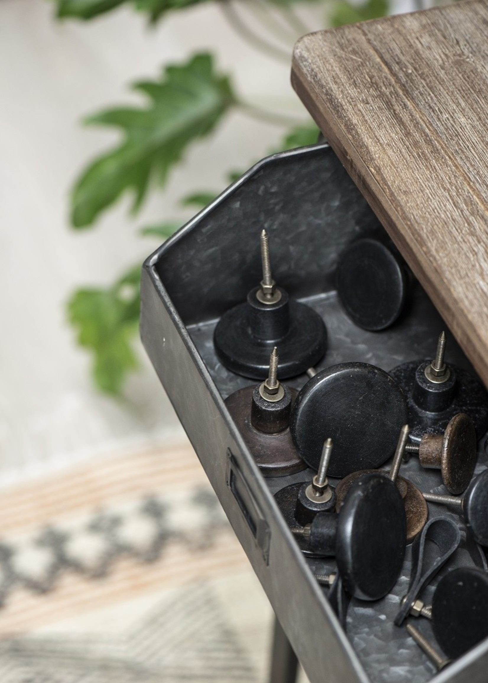 IB LAURSEN IBL  Hook black wood in 2 maten